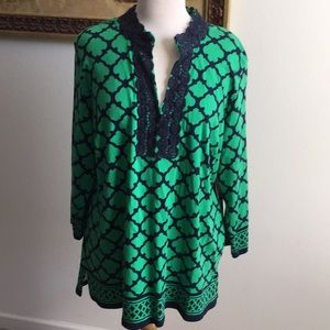 NWT Crown & Ivy tunic